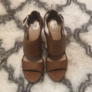 Vince Camuto Wedges 4 1/2 inches